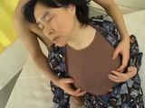 Japanese Aunty Sucks Nephew Cock and Gets Fucked by Him