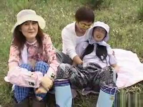 Japanese Villagers Expose Their Body and One is Fucked