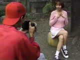 Japanese Young Girl Upskirt Outdoor and Fucked With Strapon in Photo Workshop
