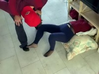 Indecent Acts Between Stuck Stepmom And Naughty Stepson
