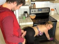 Stepson Interrupt Milf Mom While Doing A House Cleaning With Special Demand