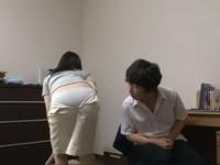 Japanese Stepmom Provokes Her Horny Stepson