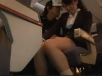 Nasty Passenger Groped And Fucked Japanese Girl In The Plane