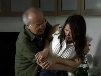 Frighten Daughter In Law Did Not Expect This Humiliation From Her Husband Father - Miho Tono