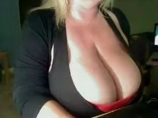 Big Breasted Mature Cam Whore Teasing