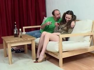 Daddy Fucks Daughters Shy Teen Girlfriend