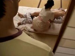 One Son Busted Mom Sayuri Takizawa Nursing His Brother Strange Way