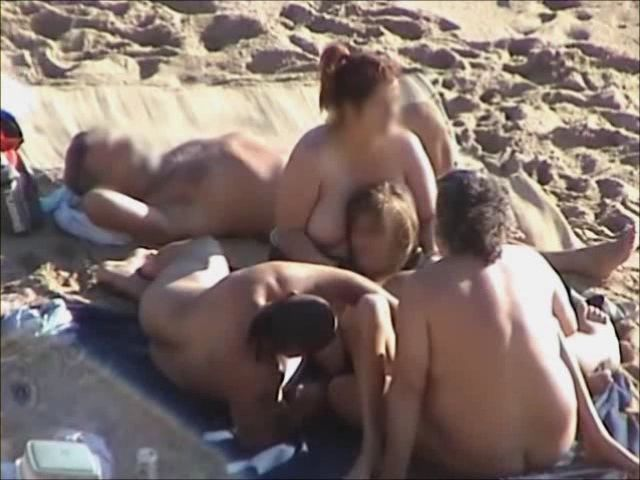 Voyeur Busted Some Weird Fellowship Down There On The Nudist Beach