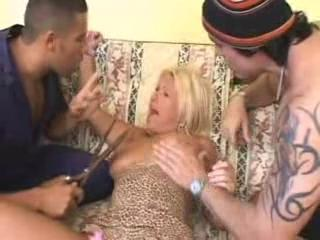 Hot Busty Blond Milf Molested And Roughly Anal Fucked By Avengers