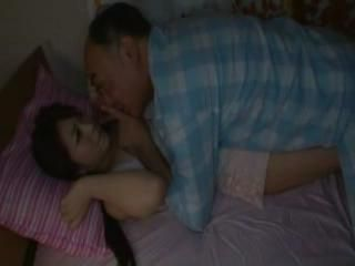 Late At Night Stepfather Sneaked Into Stepdaughters Bedroom