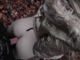 Amateur Teen Fucked In A Forest In A Cold Winter Time