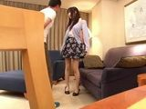 Japanese Girl Kagami Yui Seduces A Real Estate Agent For A Better Deal