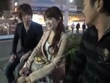 Teen Japanese Girl On The Street Gets Offered Money To Go To a Hotel Room With Two Guys - part 3