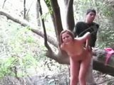 Horny Teen Fucks Her BF In The Forest