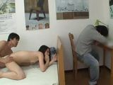 Japanese Teen Gets Fucked By An Older Dude While Her Boyfriend Sleeps In The Same Room