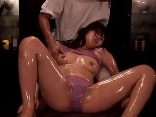 Japanese Teen Had Orgasm During Massage So There Was Nothing Else For Masseur To Do But To Fuck Her Right On The Table