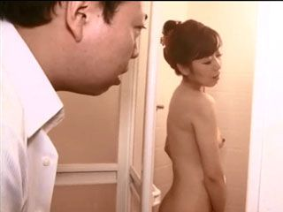 While Visiting His Friend Guy Enters Bathroom While His Wife Is Taking A Shower