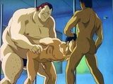 Innocent Hentai Gay Stud Gangbanged