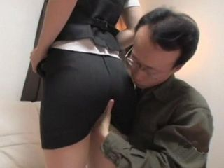 Tailor Made Naive Japanese Teen Try A New Suite To See If It Fits
