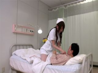 Japanese Nurse Fucking A Patient While On Duty