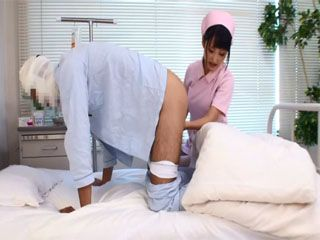 Japanese Nurse Did Her Best For The Patient To Feel Better