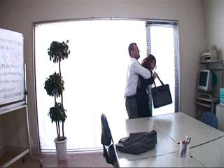 Company Employee Couldnt Take It Anymore From His Boss Erika Shibasaki So He Fucked Her Brains Out By Force At Her Offic
