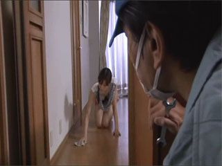 Handyman Got So Horny At Japanese Housewife Hata Ichihana That He Had To Attack Her And Fuck Against Her will