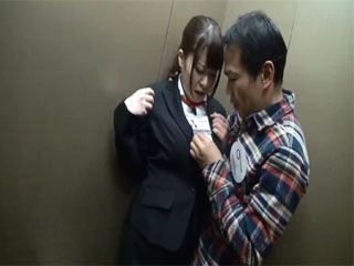 Busty Secretary Gets Fucked In A Company Elevator By Company Receptionist