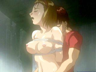 Bondage Japanese Hentai Gets Punish Her Wet Pussy With Big Dick