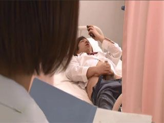 Japanese School Doctor Aso Rare Caught Her Student Jerking In Her Office