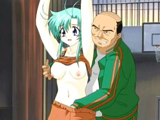 Japanese Basketball Coach Hentai Fingering Pussy And Squeezing Breast