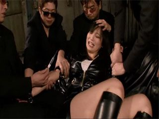 Busty Japanese Kurata Mao Gets Fucked By Japanese Mobsters