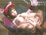Chained 3D Animation Furry With Big Boobs Gets Assfucked