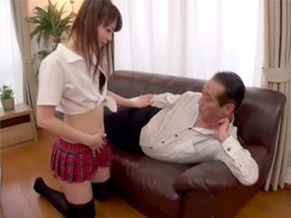Japanese Teen Fucking Her Best Friends Grandpa