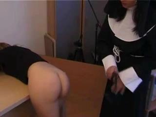 Nun Spanking Schoolgirl xLx
