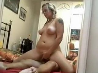Pigtailed Blonde Teen Loves Riding Cock