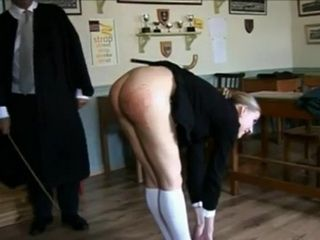 Caning the Girl in the Classroom xLx