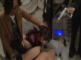 Japanese Agent Hatano Yui Gets Roughly Punished For Being At The Wrong Place At The Wrong Time