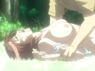 Virgin Hentai Cutie  Poked By Stranger In The Forest