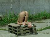 Outdoor Spanking Punishment Teen 2 xLx