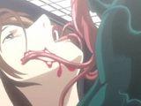 Captive Hentai Girl Hard Poking Monster