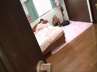 Stepdad Hardly Waited For His Wife To Leave The House So He Could Pay A Little Visit To His Little Girl Minami Riona