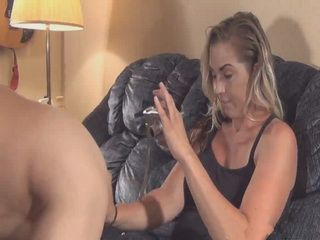 Milf Plays With Nude Guy