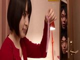 Young Japanese Hitomi Fujiwara Never Noticed Her Brothers Friends Watching Her