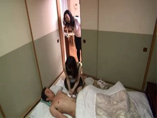 Japanese Wife Made a Mistake By Leaving Her Hubby All Alone With Their Maid