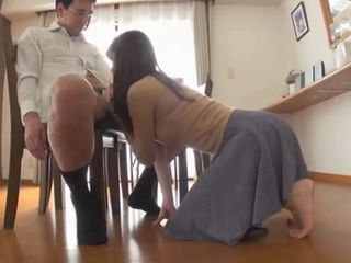 Home Alone Japanese Girl Gets Taken Advantage Of By Pervert Mature Neighbor
