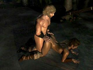 Big Muscular Hentai Gay Hunk Hardcore Fucked