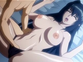 Horny hentai swetie gets hot fucked at night