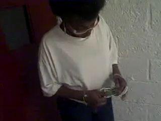 Amateur Black Granny Real Hooker Counts Earned Money After Fuck