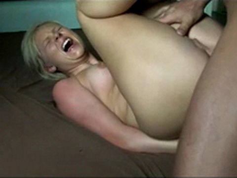 Damn Painful Anal For Amateur Tight Ass Teen